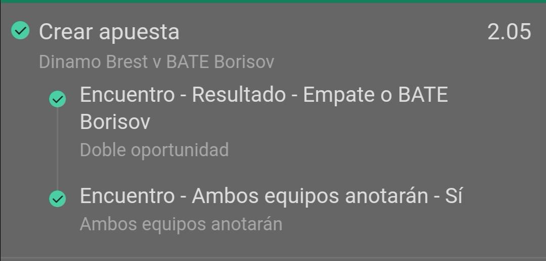 Pronostico Dinamo d Brest & BATE Borisov