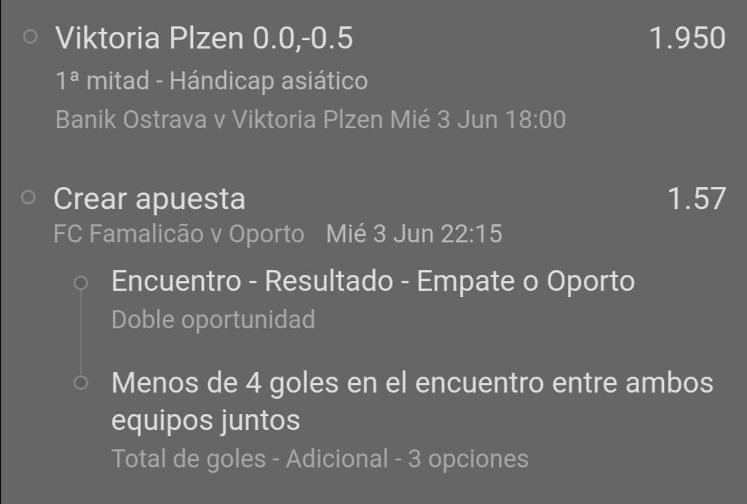 Pronosticos apuesta combinada hoy 03/06/2020