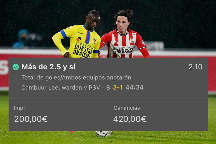 Pronóstico Cambuur vs PSV-B