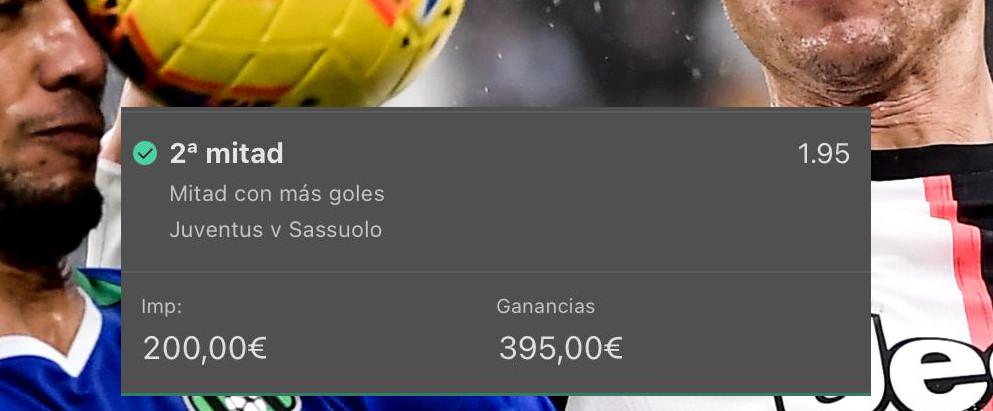 Pronóstico Juventus - Sassuolog