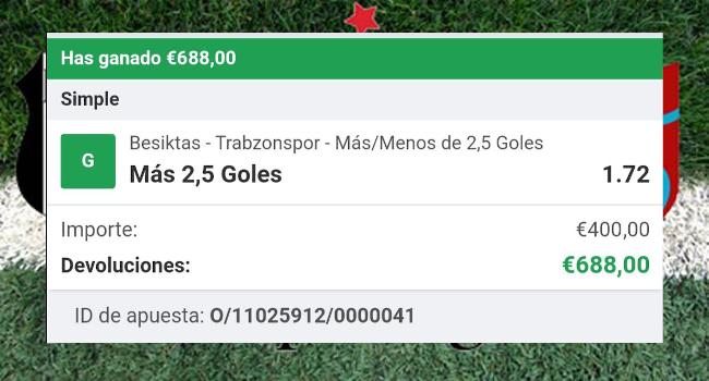 pronostico Besiktas vs Trabzonspor