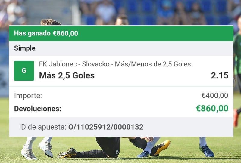 Pronóstico FK Jablonec-Slovacko