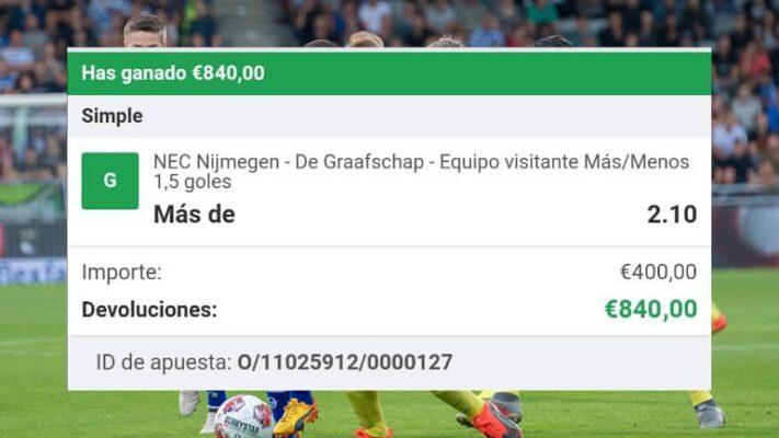 Pronóstico Nijmegen vs Graafschap
