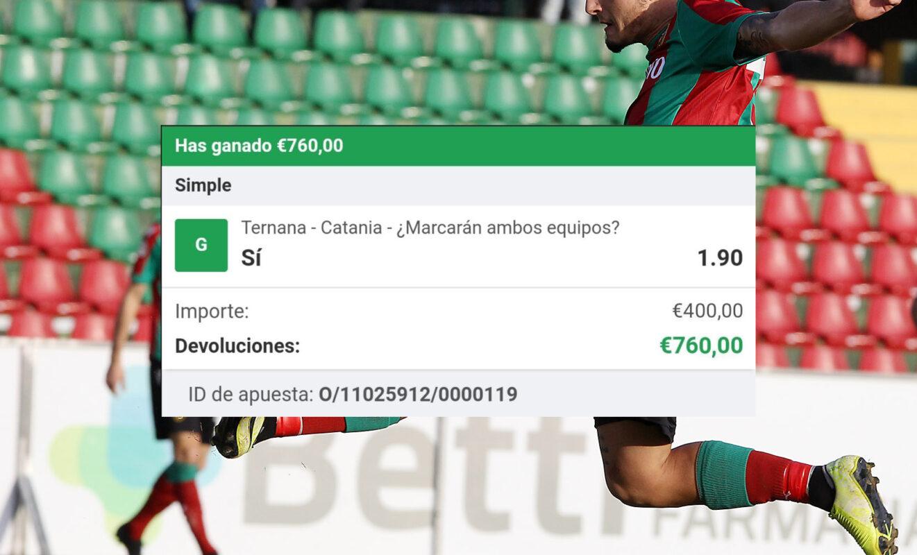 Pronóstico Ternana vs Catania