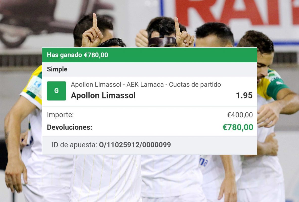 pronostico Apollon vs AEK Larnaca