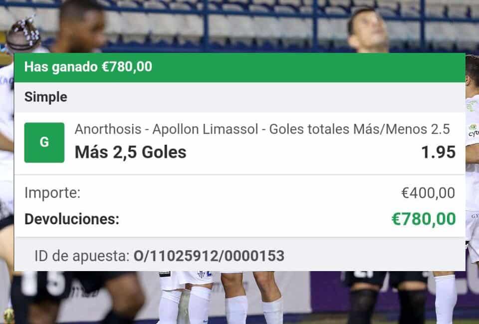 pronostico Anorthosis vs Apollon Limassol