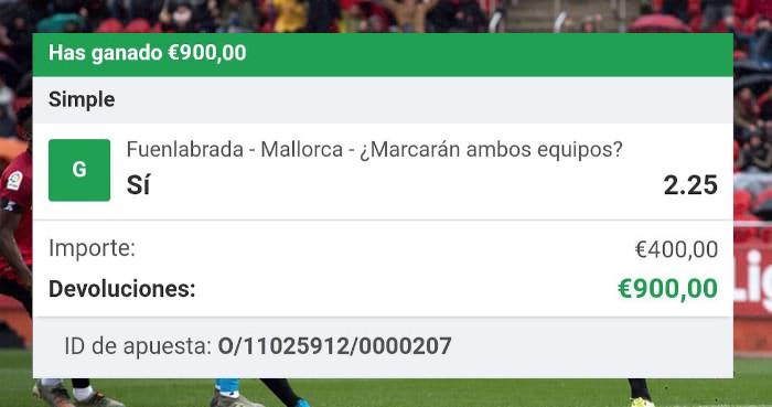 pronostico Fuenlabrada vs Mallorca