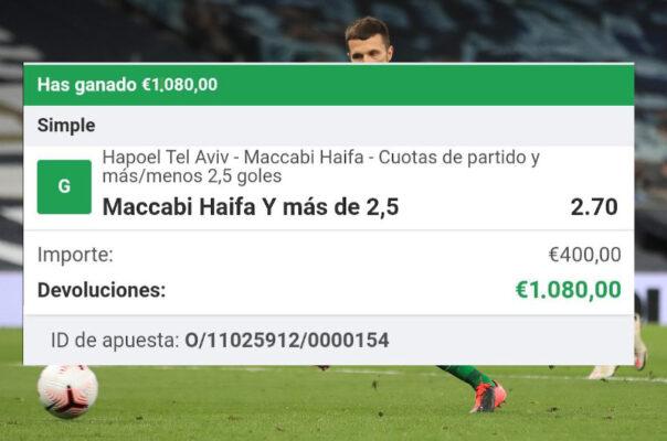 pronostico Hapoel Tel Aviv vs Maccabi Haifa