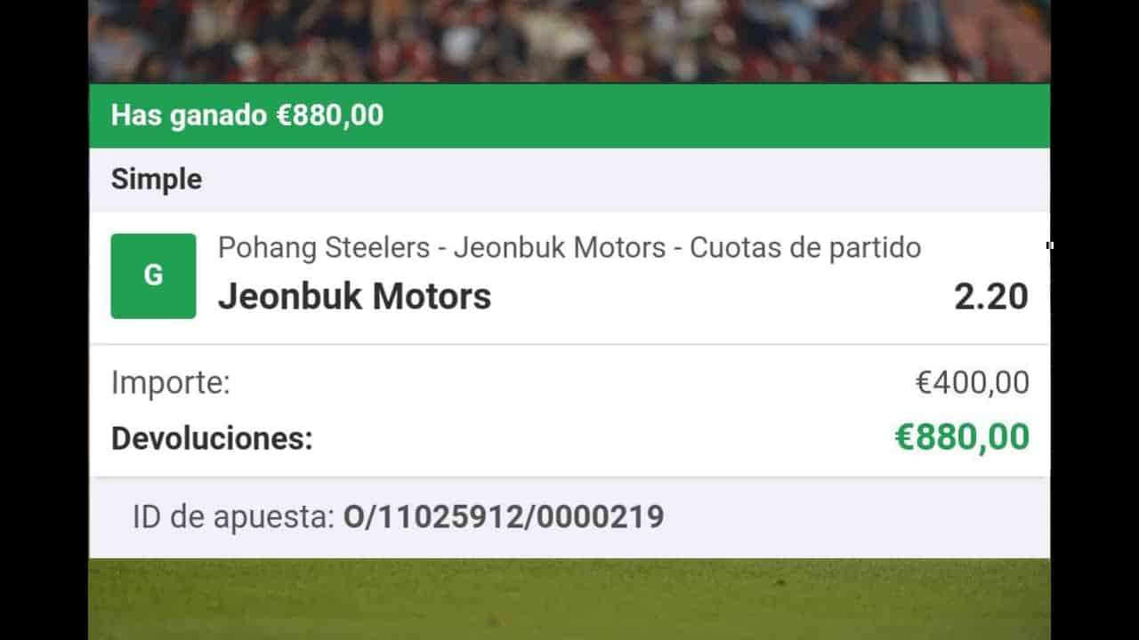 Pohang Steelers vs Jeonbuk Motors