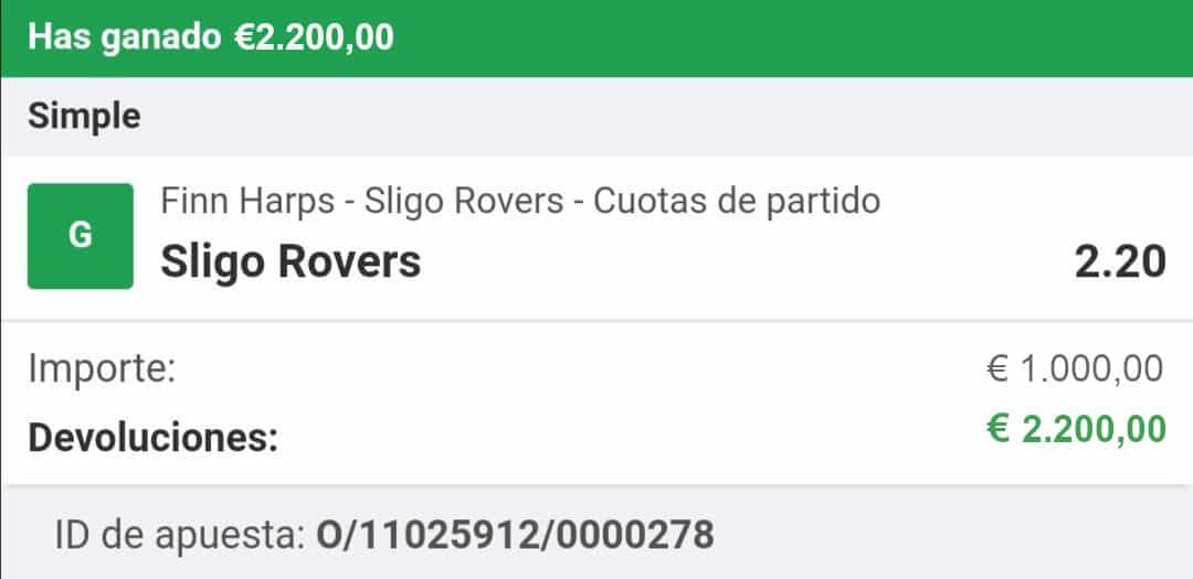 pronostico Finn Harps vs Sligo Rovers