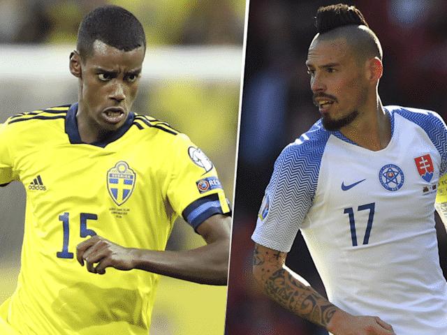 pronostico Suecia vs Eslovaquia