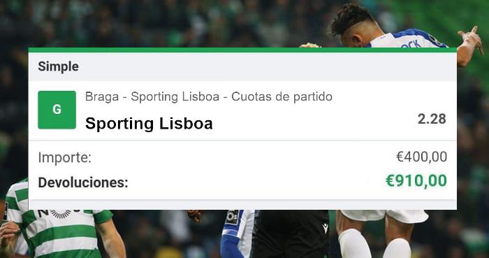 Pronostico Braga-Sporting Lisboa