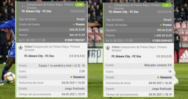 pronostico Almere City vs FC Oss