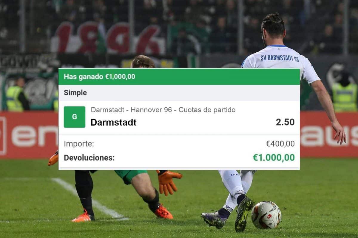 pronostico Darmstadt vs Hannover 96