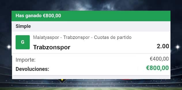 pronostico Yeni Malatyaspor vs Trabzonspor