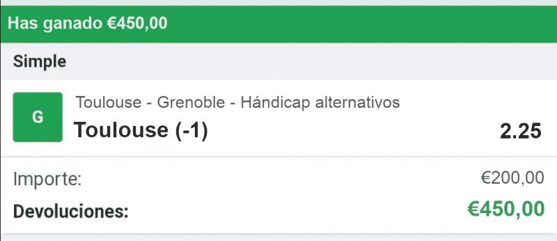 toulouse vs Grenoble